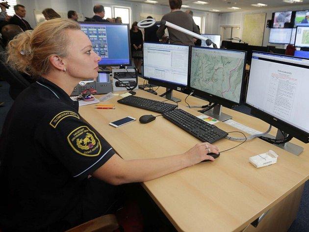 Slavnostní spuštění Národního informačního systému IZS v Olomouci