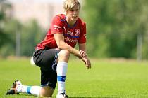 Tomáš Kalas na reprezentačním tréninku