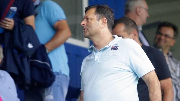 Bývalý spolumajitel fotbalové Sigmy Josef Lébr na Andrově stadionu