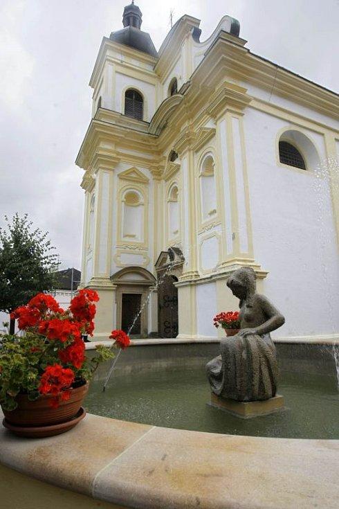 Věznice na Mírově  - kostel svaté Markéty