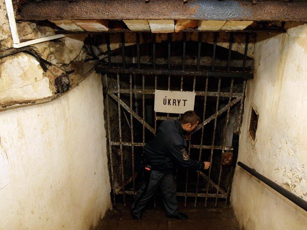 Věznice na Mírově  - vstup do podzemí