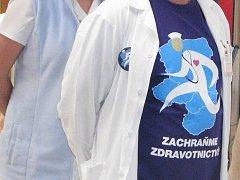 Protest lékařů. Ilustrační foto