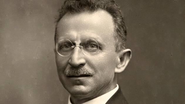 První český starosta v Olomouci JUDr. Karel Mareš