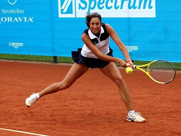 Tenisový ITS Cup vOlomouci: Nastassja Burnett