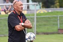 Trenér Uničova Jiří Navrátil