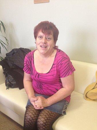 Pacientka Marta Bachanová, která podstoupila bariatrický zákrok na žaludku. Dostala dolů 50kilogramů.