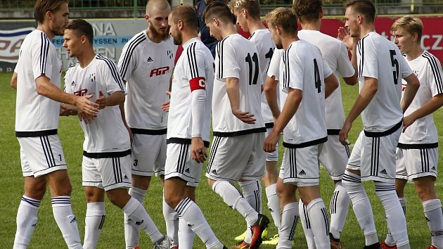 Fotbalisté HFK Olomouc. Ilustrační foto