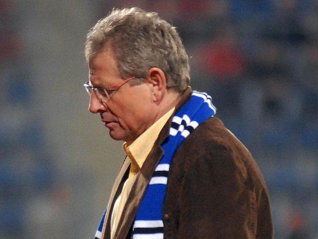 Olomoucký trenér Vlastimil Petržela byl z porážky svého týmu na Slovácku hodně zklamaný.
