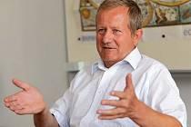 Evžen Mayer, bývalý ředitel Gymnázia Hejčín