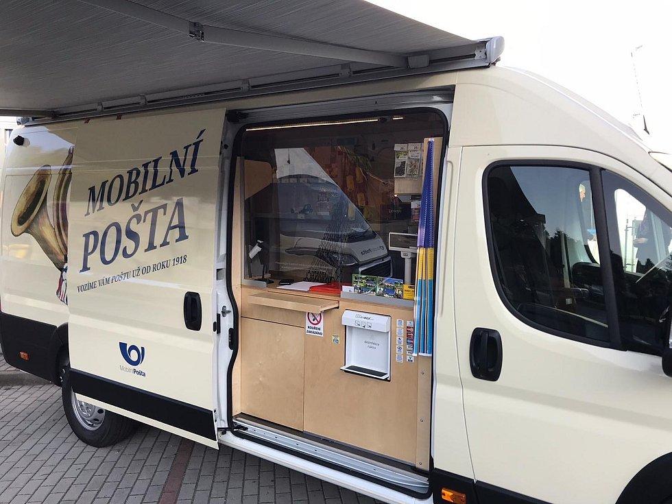 Mobilní pošta zajížděla do několika obcí v Olomouckém kraji