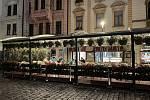 Noční život v centru Olomouce se vrací do normálu, Horní náměstí, 18. června 2021
