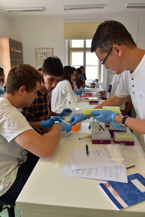 Kemp biologie na Pedagogické fakultě Univerzity Palackého v Olomouci