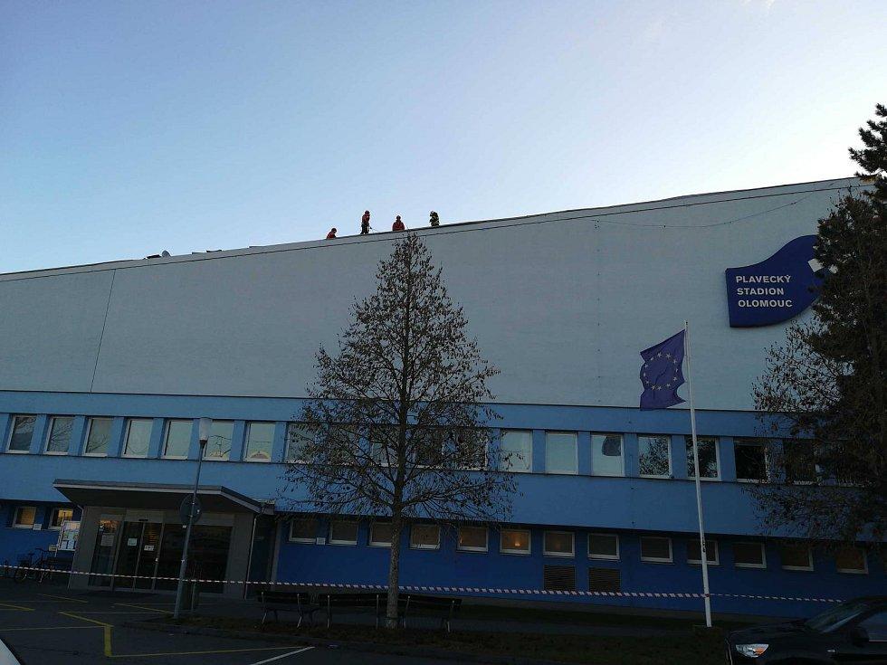 Následky silného větru v Olomouckém kraji, 5. 2. 2020