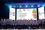 Tým Olomouckého kraje na slavnostním vyhlášení