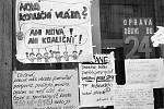 Sametová revoluce v Olomouci