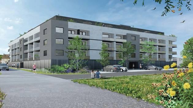 V Severní ulici v Litovli vyroste vyroste bytový komplex. Stavět může společnost FORblock