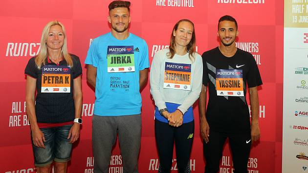 Petra Kamínková, Jiří Homoláč, Stephanie Twell, Yassine Rachik
