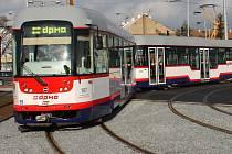 Olomoucká tramvaj. Ilustrační foto