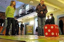 Interaktivní výstava Tvoje správná volba v divadelním sále Domu armády v Olomouci