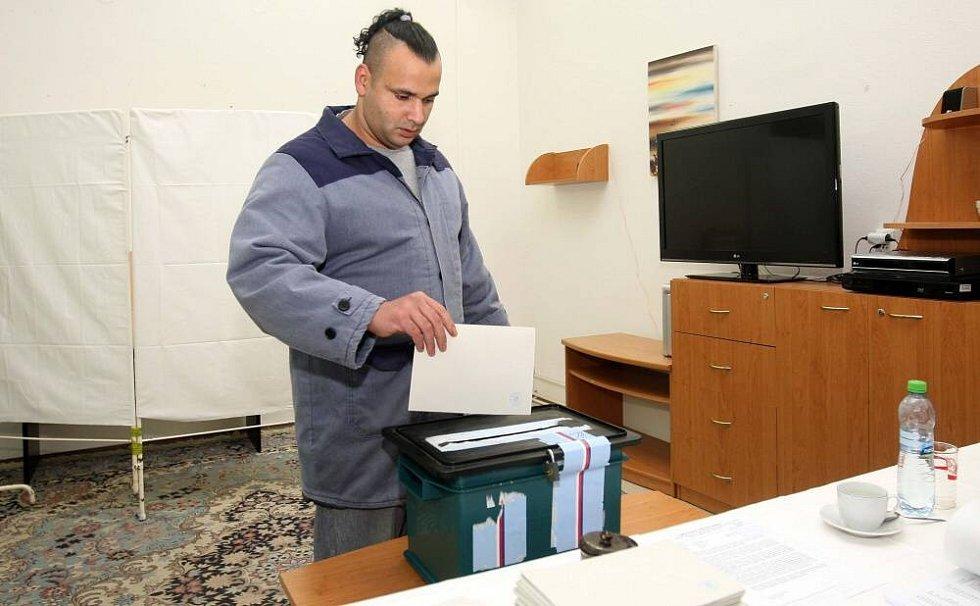 Prezidentské volby ve věznici na Mírově