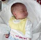 Terezie Zábranská, Bohuňovice, narozena 9. března ve Šternberku, míra 52 cm, váha 3710 g
