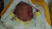 Jakub Frydryšek, Šternberk, narozen 18. června, míra 50 cm, váha 3620 g