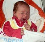 Nikola Veselá, Uničov narozena 18. prosince míra 51 cm, váha 3752 g