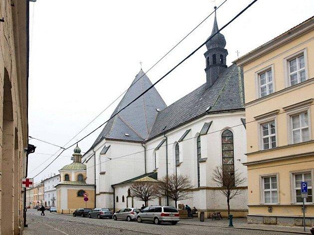 Dominikánský kostel v Sokolské ulici v Olomouci
