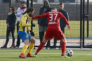 Jakub Řezníček. Fotbal příprava: Dunajská Streda - Sigma Olomouc