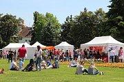 Garden food festival v Olomouci