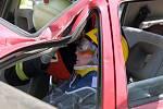 Soutěž ve vyprošťování z havarovaných aut