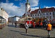 Historická tramvaj z roku 1930 bude na Horním náměstí v Olomouci součástí oslav 100 let republiky