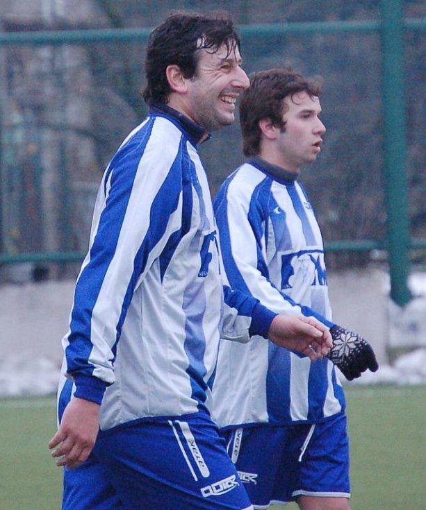 Marek Hollý, bývalý hráč SK Sigma Olomouc, nyní hrající trenér a manažer MŠK Fomat Martin.