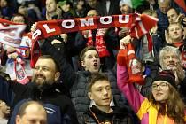 Fanoušci Mory na šestém čtvrtfinálové zápase s Plzní v roce 2019