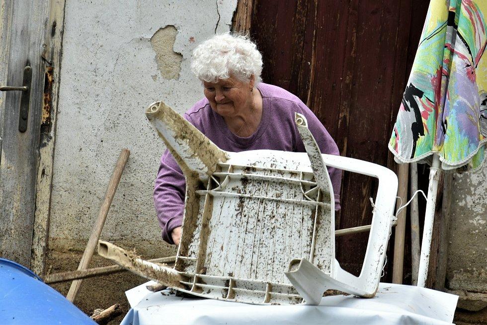 Jedenaosmdesátiletá paní Berková z Břevence, 9. 6. 2020