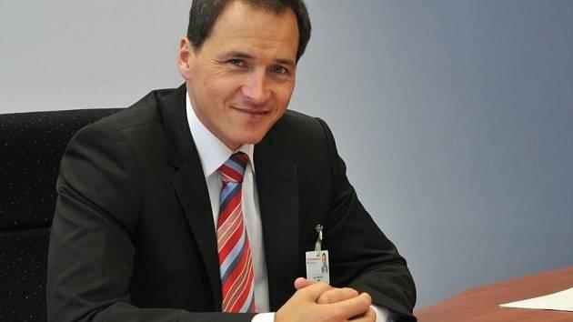 Ředitel Středomoravské nemocniční Tomáš Uvízl