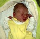 Prokop Fidler, Litovel, narozen 23. ledna ve Šternberku, míra 50 cm, váha 3110 g