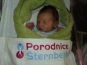 Mikuláš Martinek, Komárov, narozen 4. února, míra 50 cm, váha 3360 g
