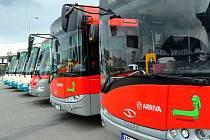 Nové autobusy společnosti Arriva Morava