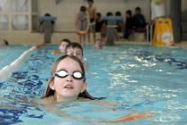 Kurz plavání v Centru zdraví v Bohuňovicích