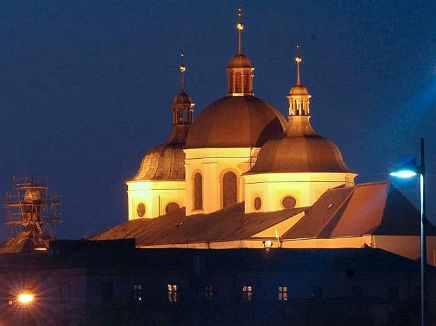 Chrám svatého Michala v Olomouci. Ilustrační foto