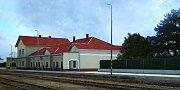 Vizualizace přestavby nádraží ve Šternberku - I. etapa