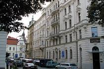 Nešverova ulice v Olomouci