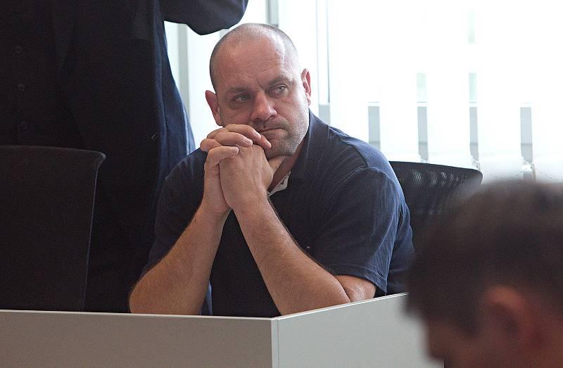 Daniel Kunce u krajského soudu v Olomouci
