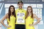 V Dolanech u Olomouce finišovala závěrečná čtvrtá etapa závodu Czech Cycling Tourcelkový vítěz Josef Černý