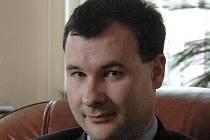 Michal Jelínek, předseda okresního soudu v Olomouci.