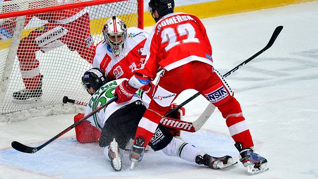 Tipsport extraliga, BK Mladá Boleslav - HC Olomouc.