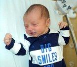 Filip Tomeček, Hranice,  narozen 10. června ve Šternberku,  míra 50 cm, váha 3430 g