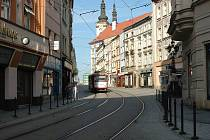 Denisova ulice v Olomouci