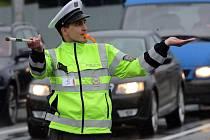 Krajské kolo soutěže dopravních policistů Regulovčík 2015 v Olomouci